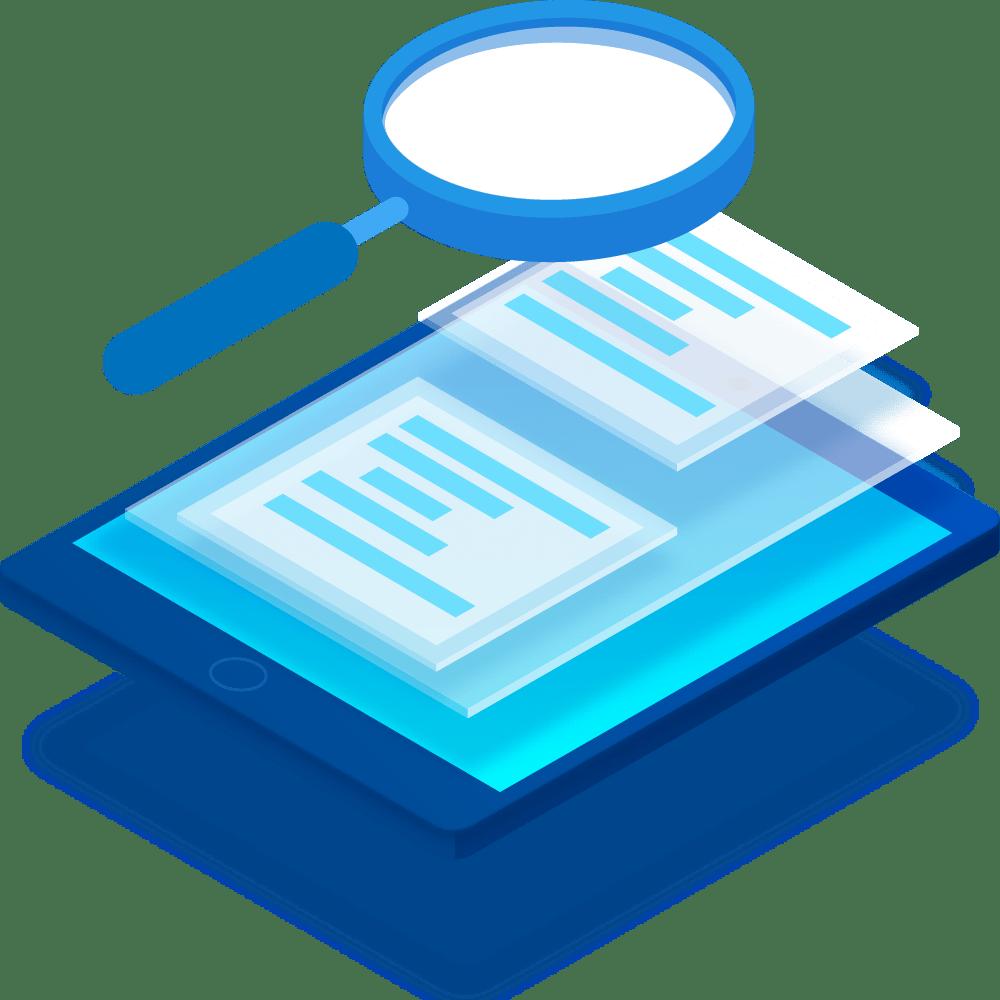 Scandienstleistung - Digitalisierung von Akten scannen 1