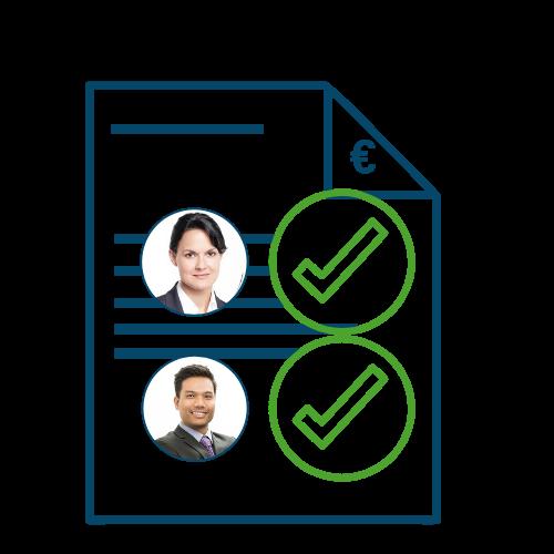Transparente Workflows in Ihrem DMS und die Automatisierung von Geschäftsprozessen sorgen für eine reibungslose Kommunikation und Arbeitsweise