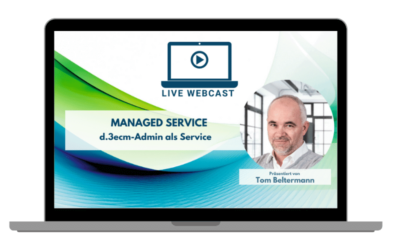 LIVE WEBCAST Managed Service DMS