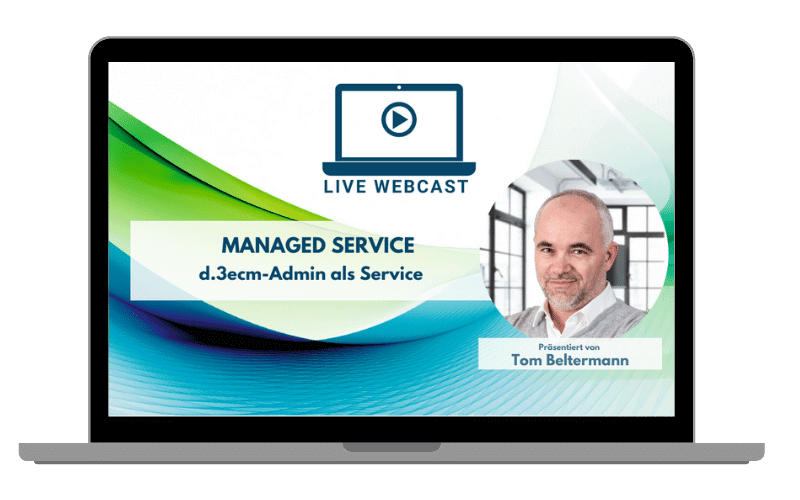 Webcast Managed Service DMS paperless group