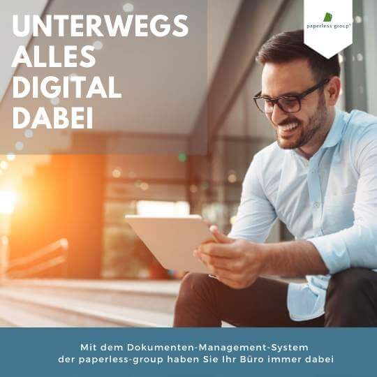 Mobiles DMS der paperless group