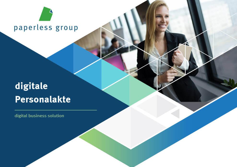 Die Softwarelösung für die digitale Personalakte der paperless group