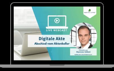 Digitale Akte- Abschied vom Aktenkeller