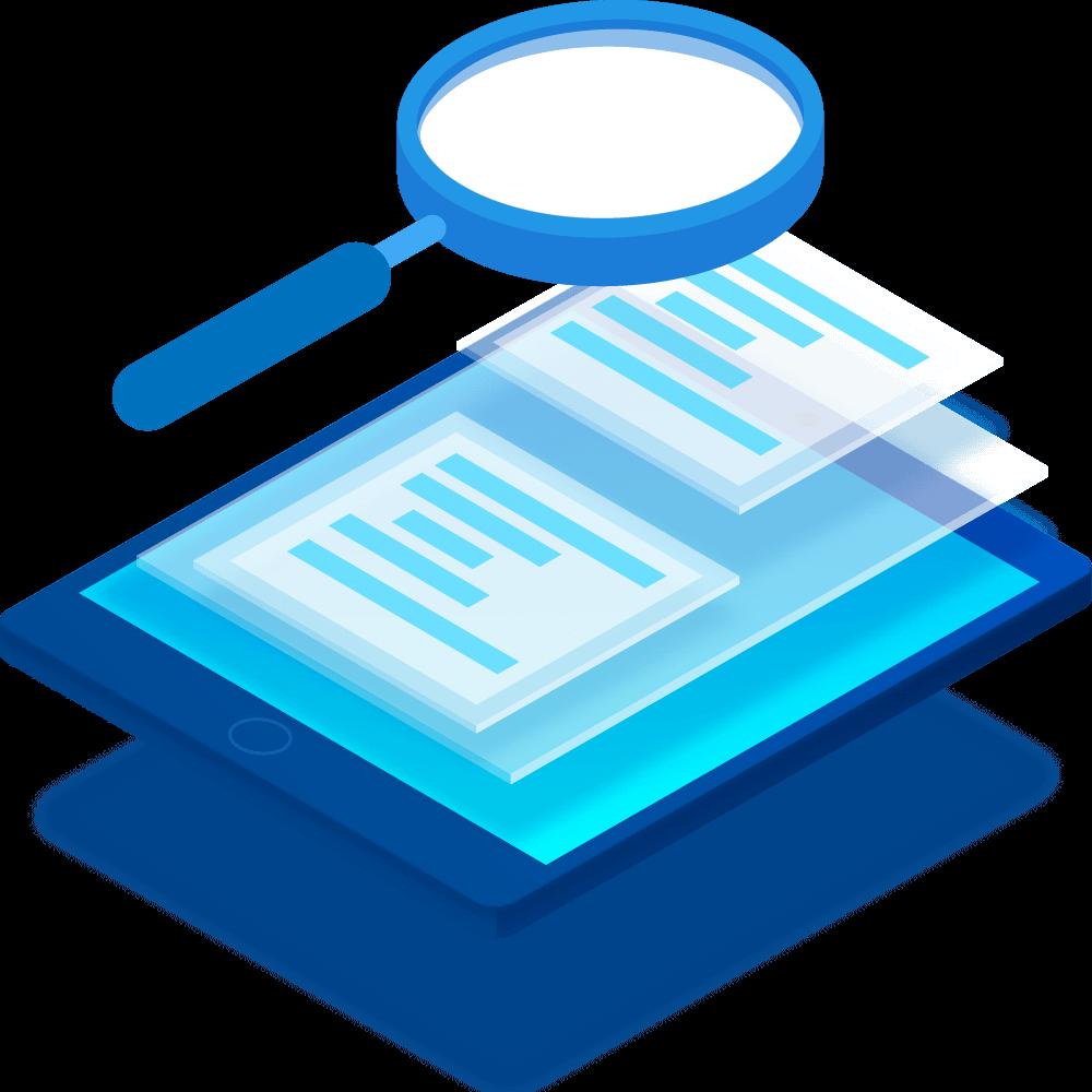 Schnelle Suche in digitalisierten Dokumenten