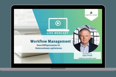 LIve WebCAst Workflowmanagement