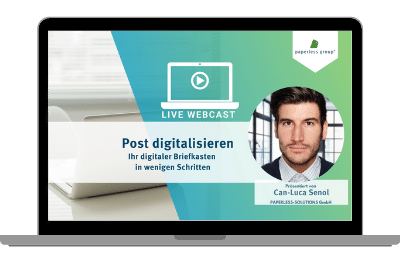 LIve WebCast post digitalisieren