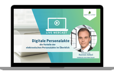 Live WebCast digitale Personalakte