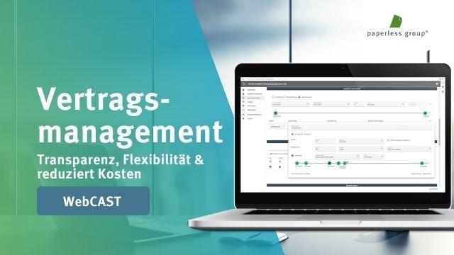 Vertragsmanagement mit DocuSign – WebCast-Aufzeichnung