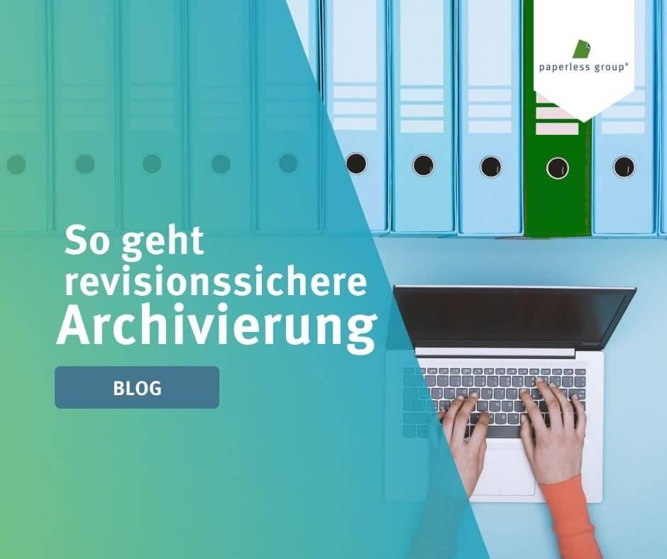 Mit elektronischen Akten im digitalen Archiv haben Sie jederzeit eine zentrale Ablage für Ihre wichtigsten Dokumente