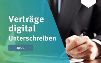 Verträge digital unterschreiben