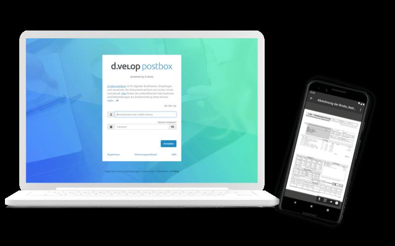Versenden und Empfangen Sie Gehaltsabrechnungen auf allen Endgeräten: PC, Laptop, Tablet und Smartphone