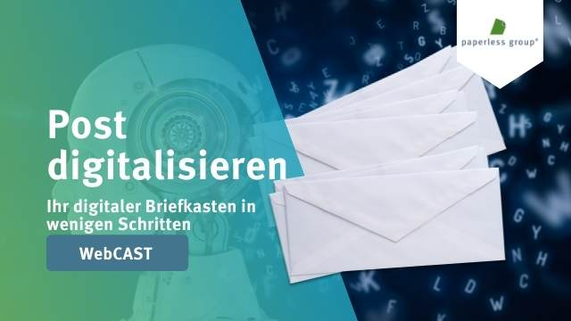 Webcast Aufzeichnung Post digitalisieren