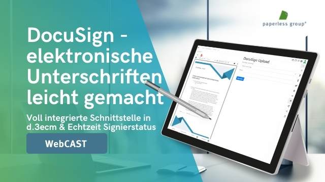 DocuSign – elektronische Unterschriften leicht gemacht