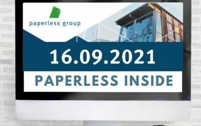PAPERLESS INSIDE vom 16.09.2021