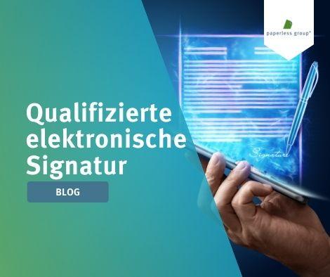 qualifizierte elektronische Signatur mit digitalem Zeichenstift auf dem Handy