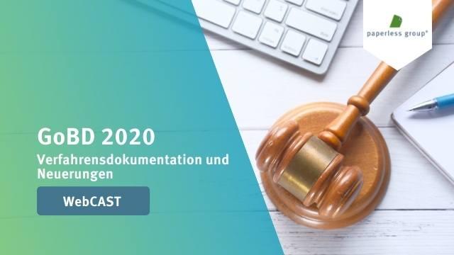 Verfahrensdokumentation &  Neuerungen GoBD 2020